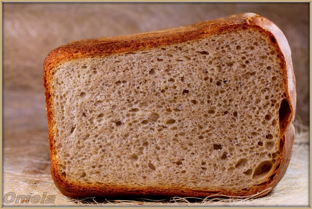 Банановый хлеб с отрубями на закваске