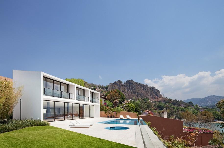 Дом Casa la Roca в сердце Мексики от Parque Humano