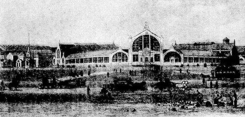 Рисунок 75. Городской транспорт в 1882 году (ВХПВ).
