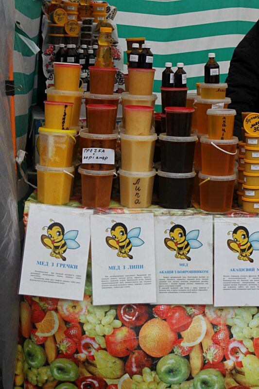 Мёд разных сортов