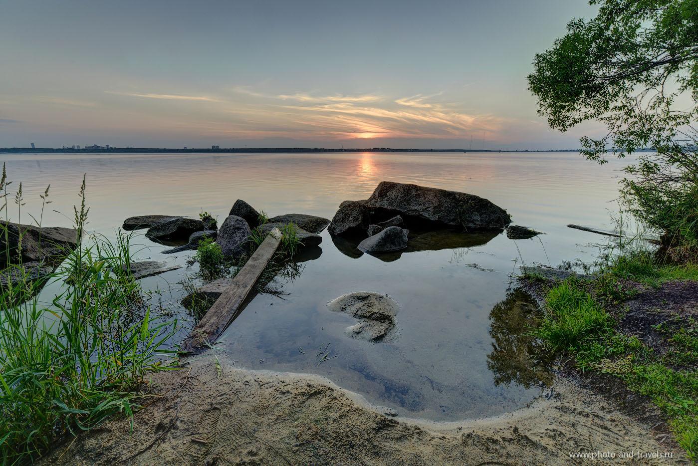 Фото 13. Еще один пейзаж, снятый при ручной фокусировке. ХДР из трех кадров. Фотоаппарат Никон Д610. Объектив - Самъянг 14/2,8. Штатив Sirui T-2204X.