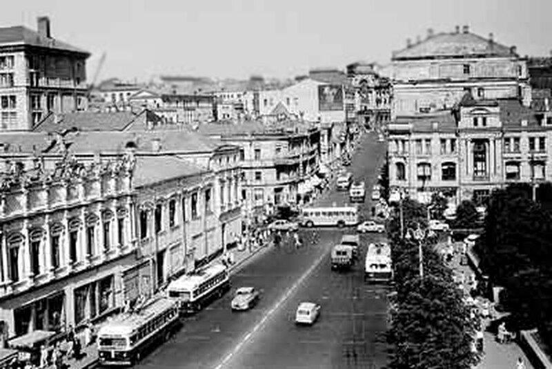 Кузнецкий мост, 1960.