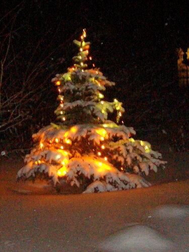 Зима,с.Остров,Новый год,Рождество