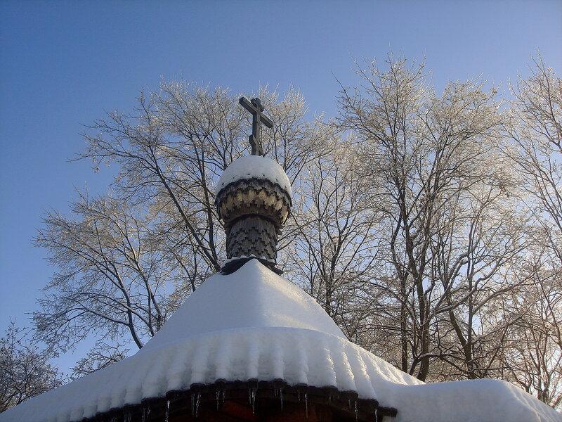 Зима,с.Остров,зарисовки