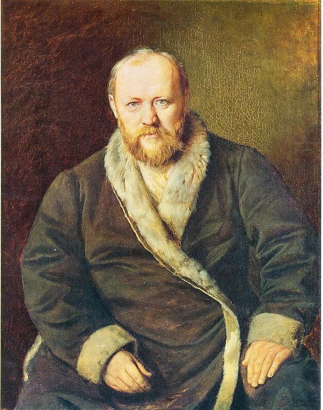006. Портрет писателя А.Н. Островского. 1871