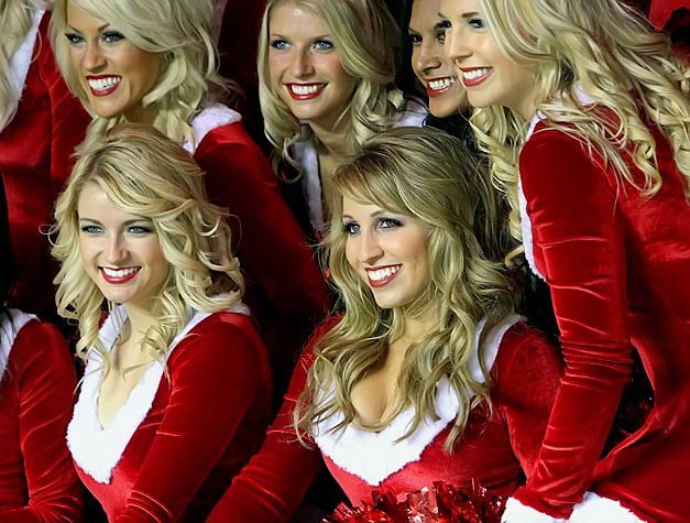 NFL Christmas 2011 Cheerleaders - Arizona Cardinals
