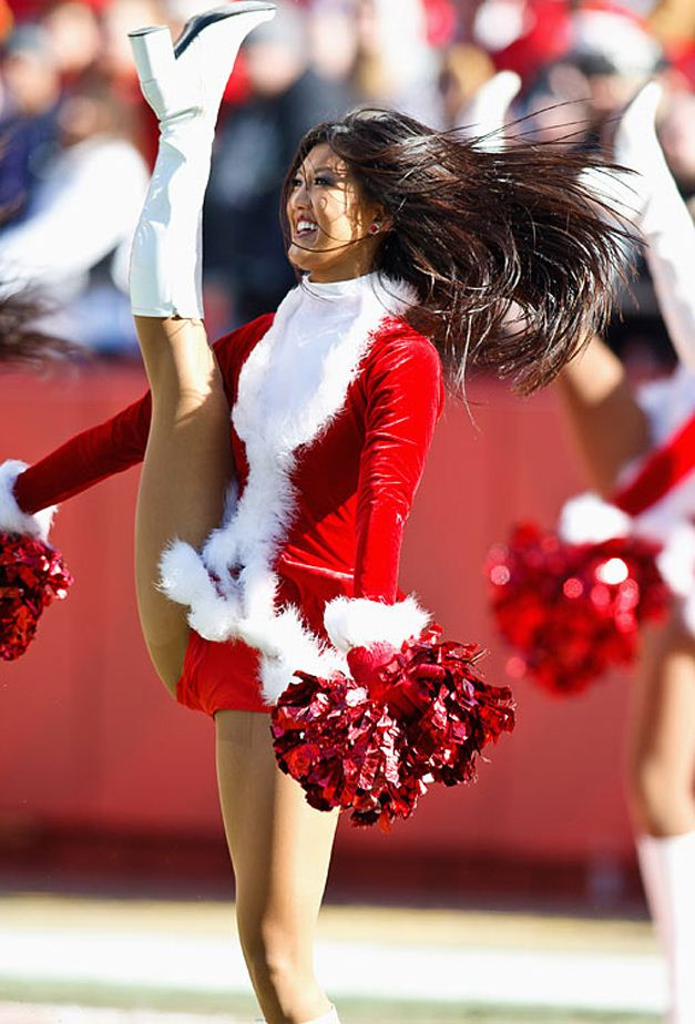 NFL Christmas 2011 Cheerleaders - Kansas City Chiefs