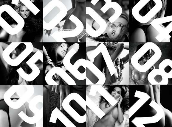 Обнаженные девушки в календаре производителя велосипедов Kellys на 2012 год