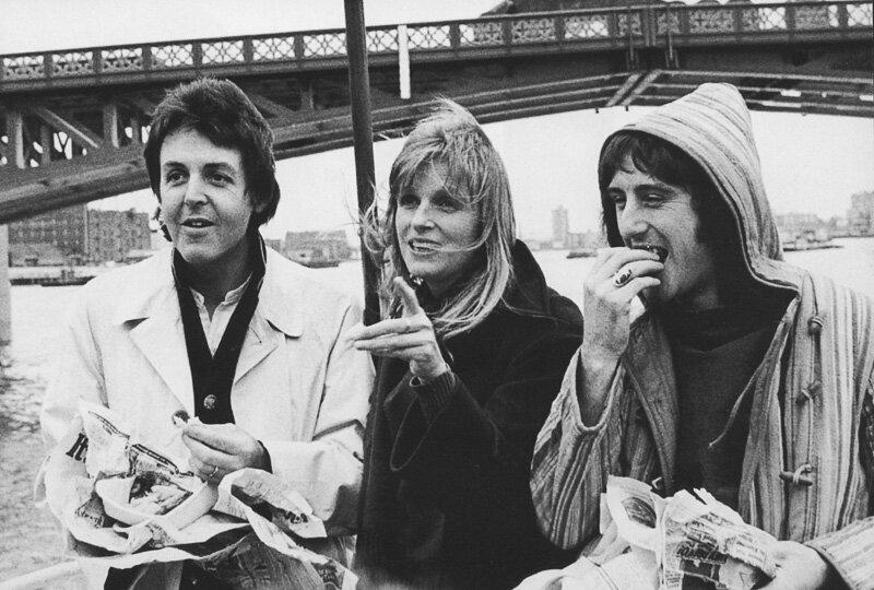 paul mccartney,Linda McCartney,Denny Laine