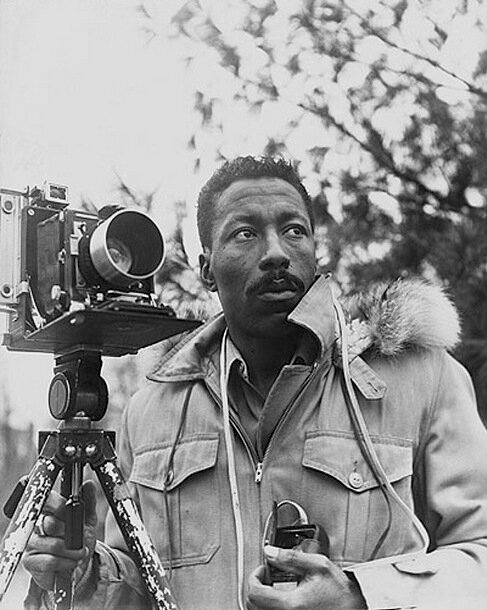 Gordon Parks — Photograph by Norman Eagle