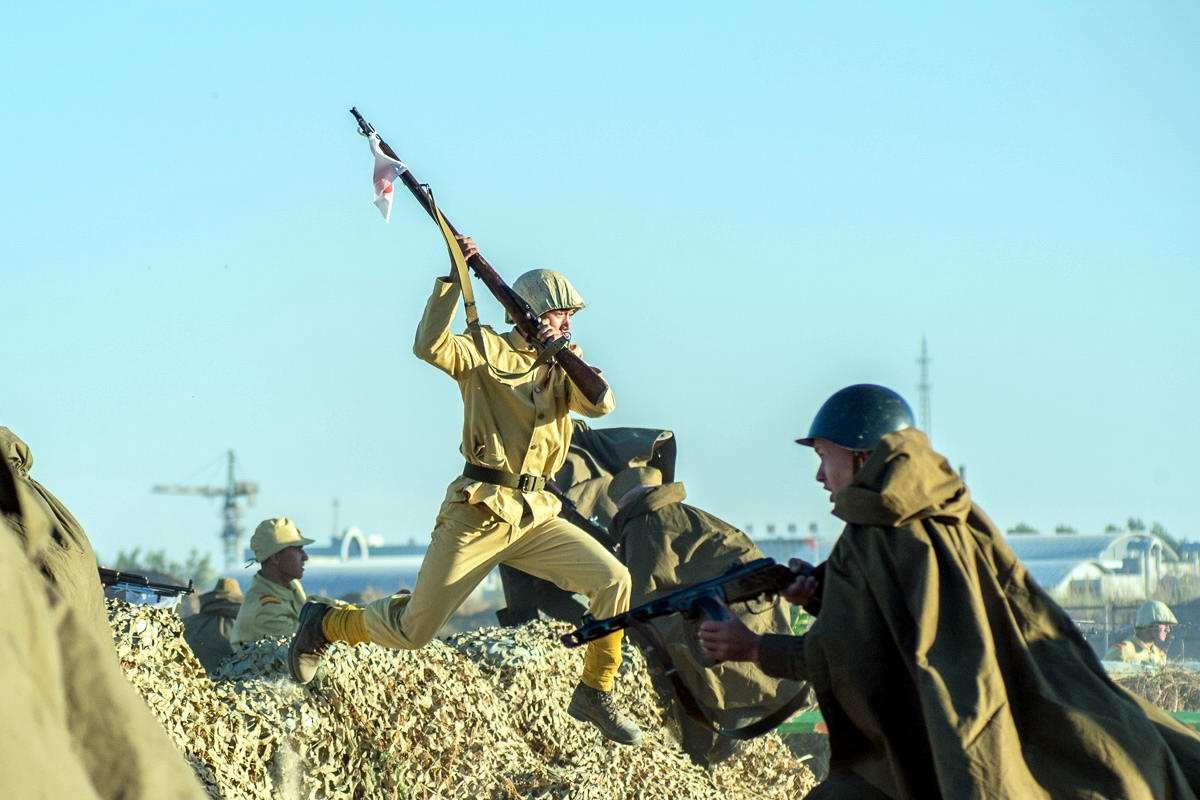 Разгром японцев на берегах Амура: Реконструкция событий времен 2-й мировой войны (22)