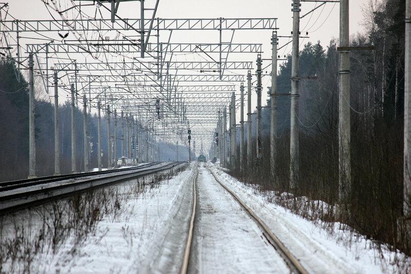 Станция Войтоловка на горизонте