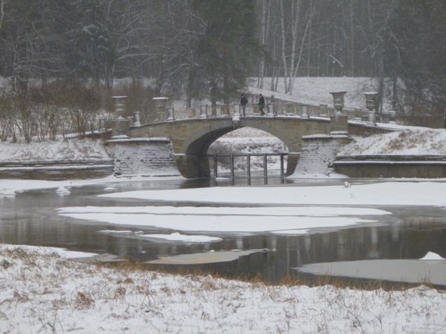 Павловский парк зимой