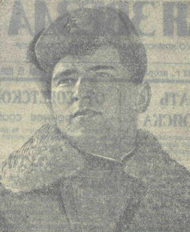 Герой Советского Союза старший сержант МИЛЬДЗИХОВ Хазимурза Заурбекович