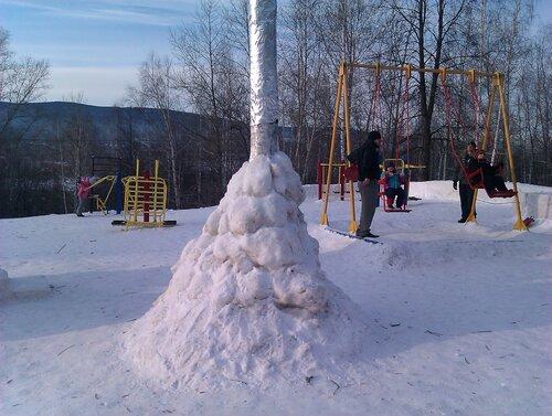 Детский парк на Машзаводе