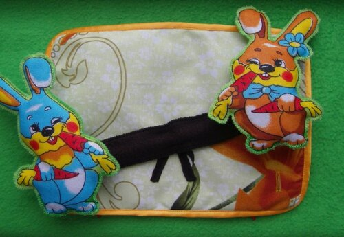 Развивающий коврик для детей... Тяга-Перетяга!