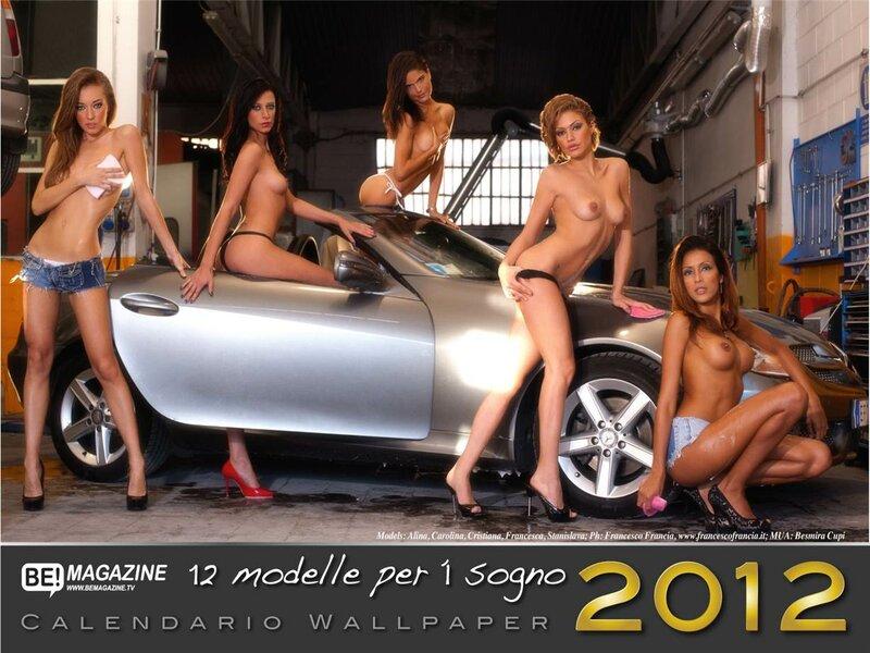 Be Magazine calendar 2012 -