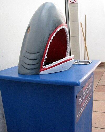 Акула-урна