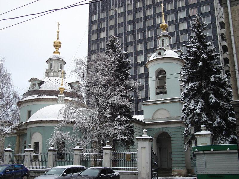 Косьмы и Дамиана церковь на Маросейке