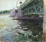 Питер,дворцовый мост(этюд).jpg