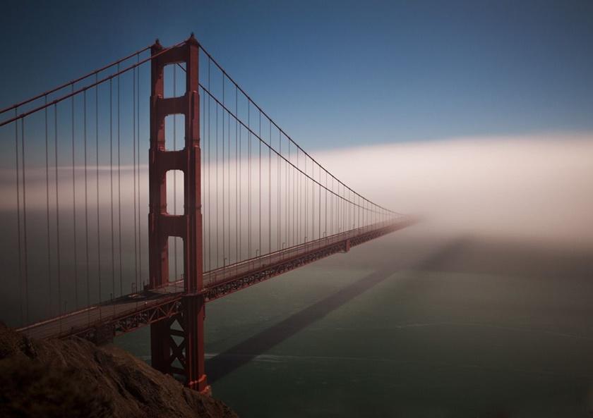 Красивые фотографии тумана в Сан Франциско, США 0 142262 7b5eed53 orig