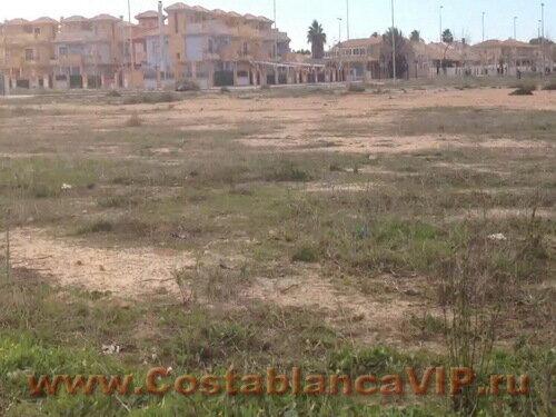 Земля в Pilar de la Horarada, участок земли в Испании, земля в Пилар де ла Орарада, участок на первой линии пляжа, Коста Бланка, земля под застройку, недвижимость в Испании, земля в Испании, CostablancaVIP