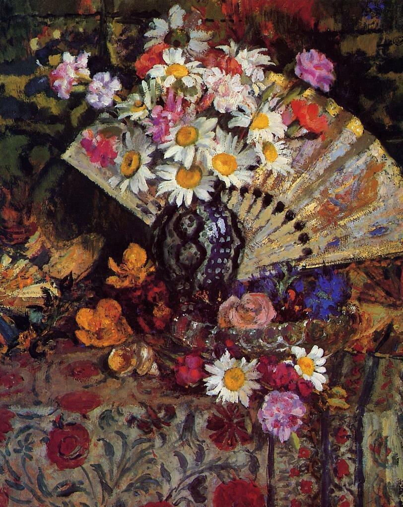 Georges Lemmen - Still Life with Fan.jpeg