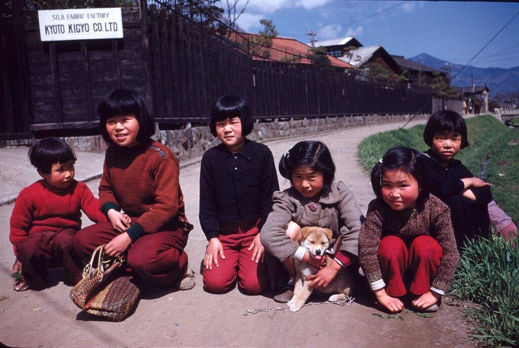 Children in Kyoto