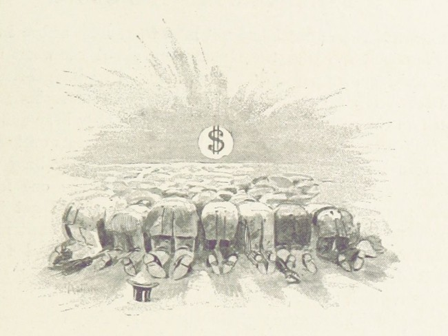 Поклонение доллару