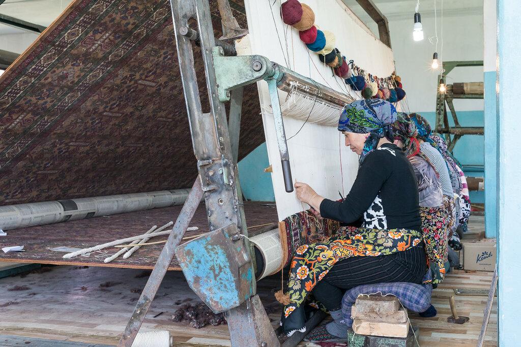 ковровое ткачество