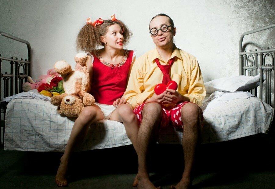 Фото приколы мужа и жены