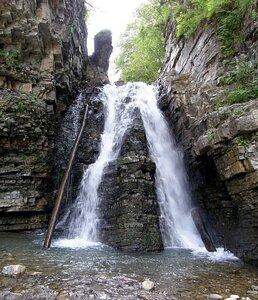 Водопад Бухтивецкий. Фото Seleonov