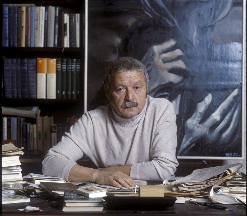 Ю.Д.Левитанский. Фото Валерия Плотникова
