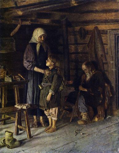 К. П. Пынеев.  По миру. 1892. Ставропольский музей