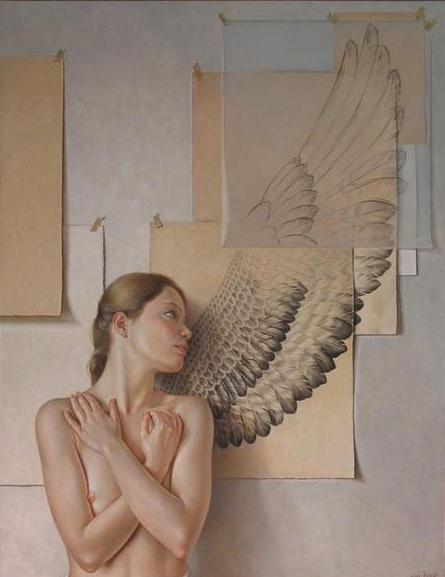 Нарисую крылья, вырежу, приклею. Сочиню я песню и вспорхну над нею. Francine Van Hove.НЮ