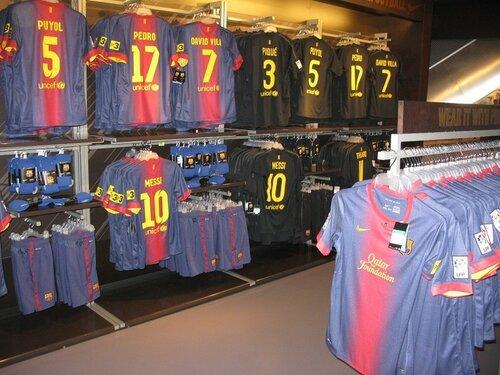 футболки Барса