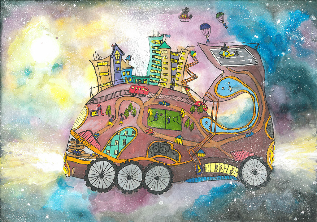 Рисунки конкурса автомобиль моей мечты 39