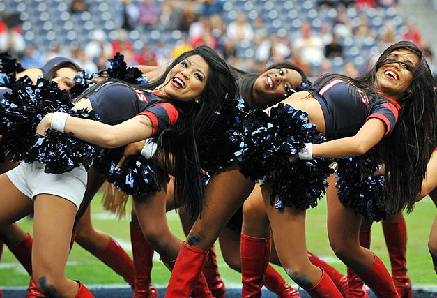 NFL Christmas 2011 Cheerleaders - Houston Texans