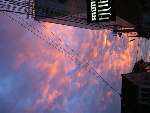 закатное небо Съем РИпа