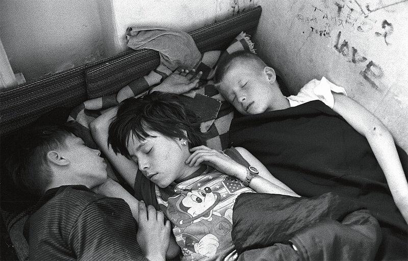 Беспризорники.Фото Александр Гляделов