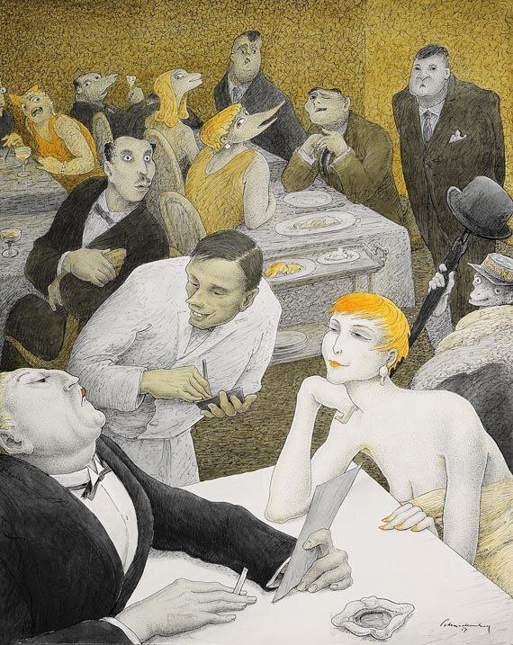 (1957) Prominenz.