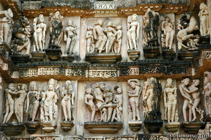 колготка фрески индийских храмов камасутра при