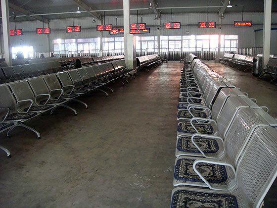 Опустевший вокзал в Шеньяне (Китай)