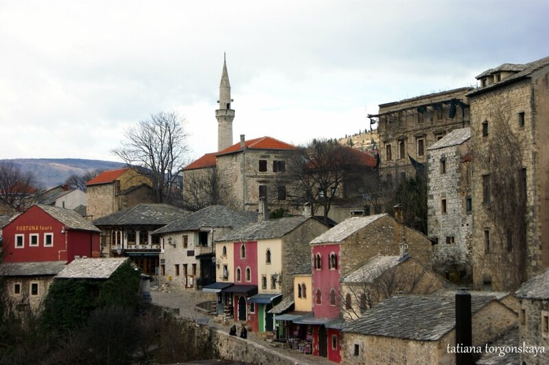 Вид на улицу Куюнджилук со Старого моста