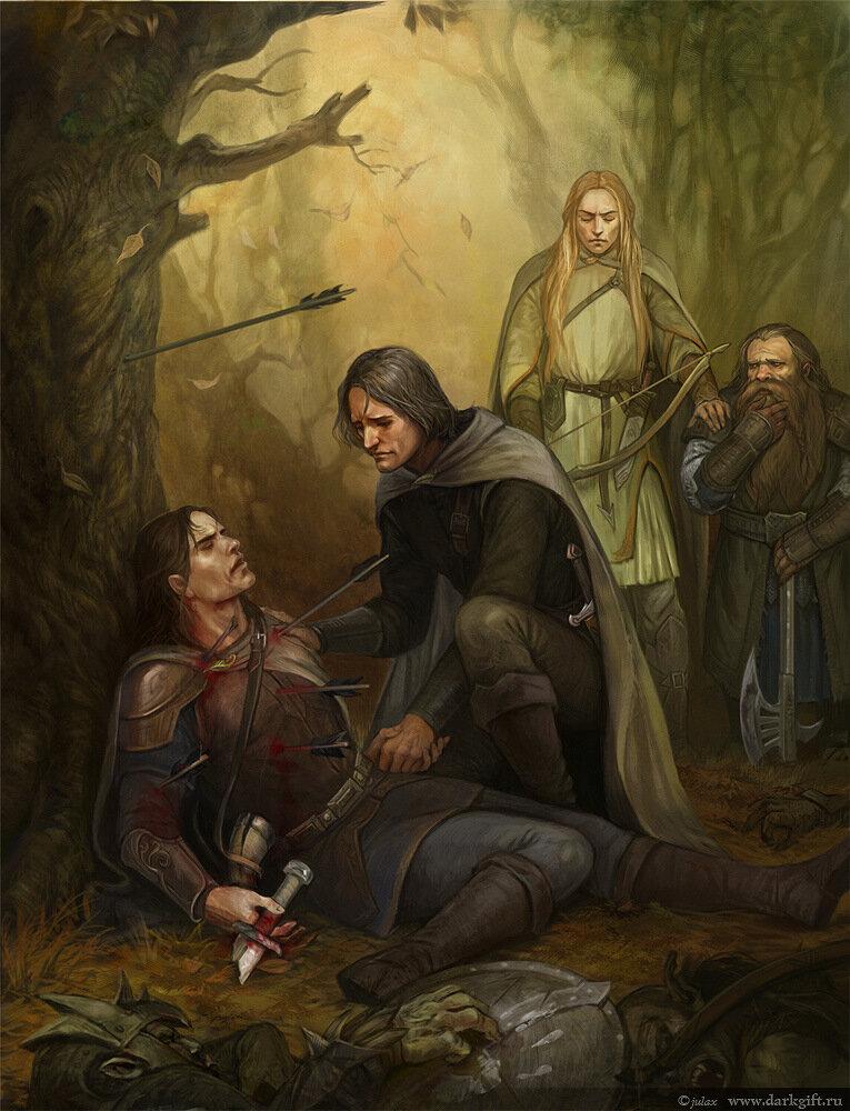Смерть Боромира - Алексеева Юлия (CG-warrior)