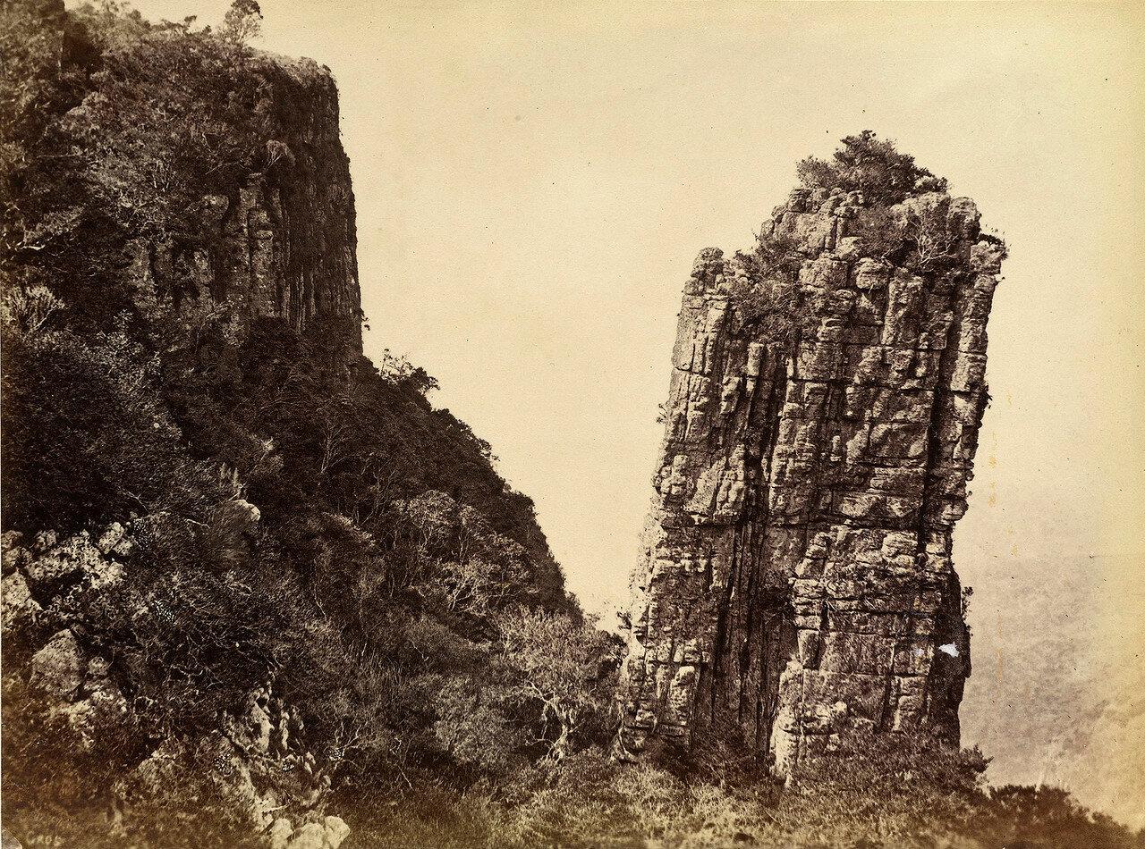 Джеппес Тауээр, скала-останец в восточной части колонии Трансвааль