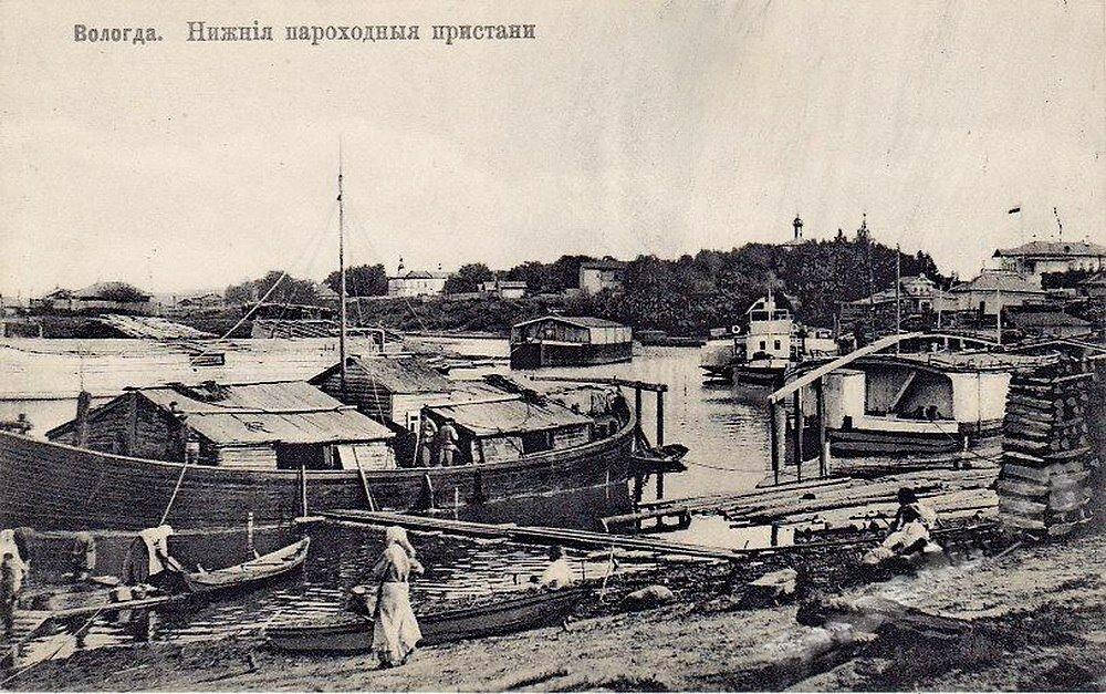 Нижние пароходные пристани