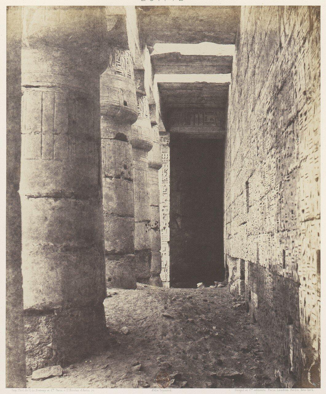 Мединет-Абу. Юго-восточная галерея