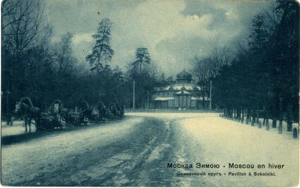 Окрестности Москвы. Сокольничий кру