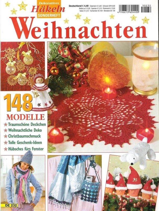 ...Hakeln 193Немецкий. журнал по вязанию крючком салфеток, дорожек, скатертей, панно, подушек, занавесок, цветов.